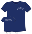 T-shirt-captain-word-is-law